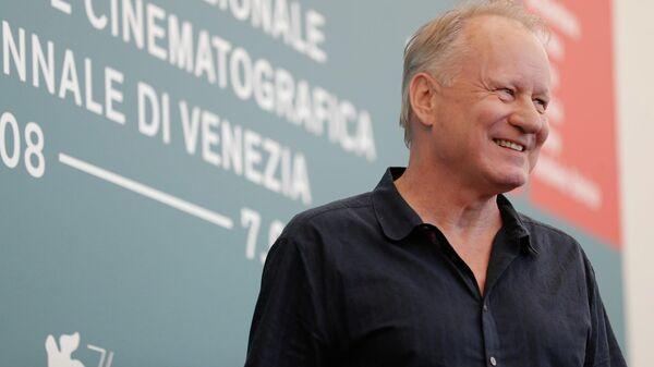 Актер Стеллан Скарсгард на 76-м Венецианском международном кинофестивале