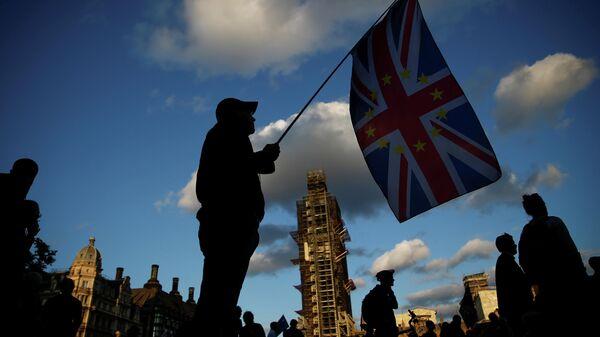 Противники Brexit в Лондоне. 4 сентября 2019