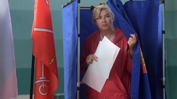 Единый день голосования в регионах России. Санкт-Петербург