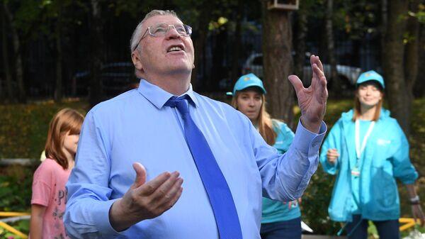 Жириновский на выборах в единый день голосования