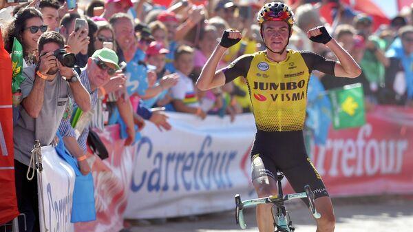 Американский велогонщик Сепп Кусс