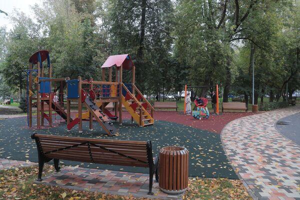 Сквер Русские узоры в Москве