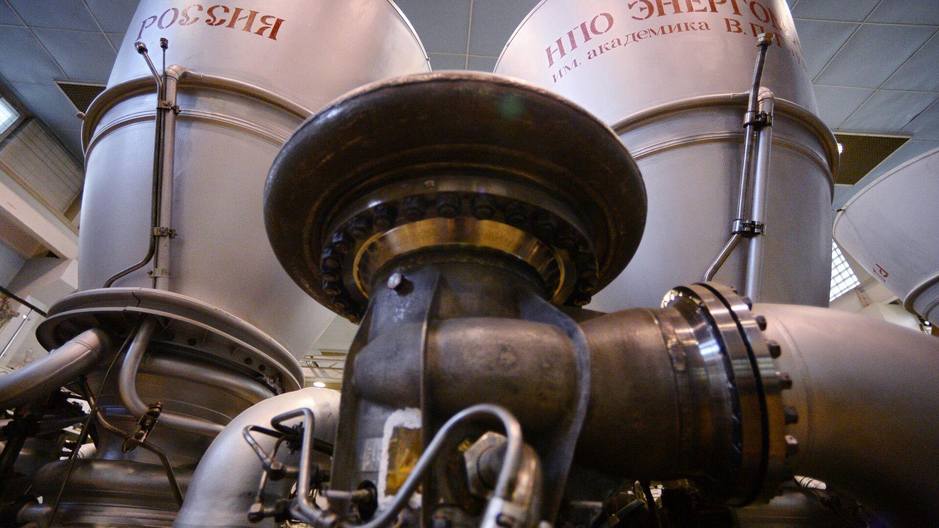 Ракетный двигатель РД-180 в цехе НПО Энергомаш в Московской области - РИА Новости, 1920, 08.04.2021