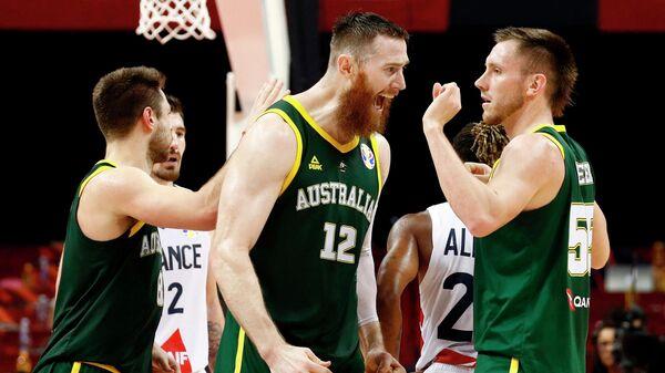 Баскетболисты сборной Австралии