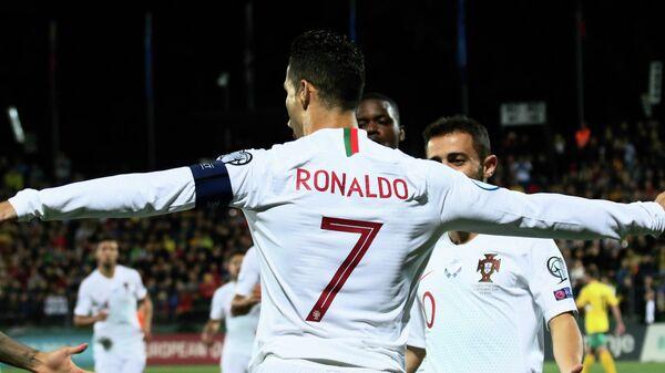 Форвард сборной Португалии Криштиану Роналду