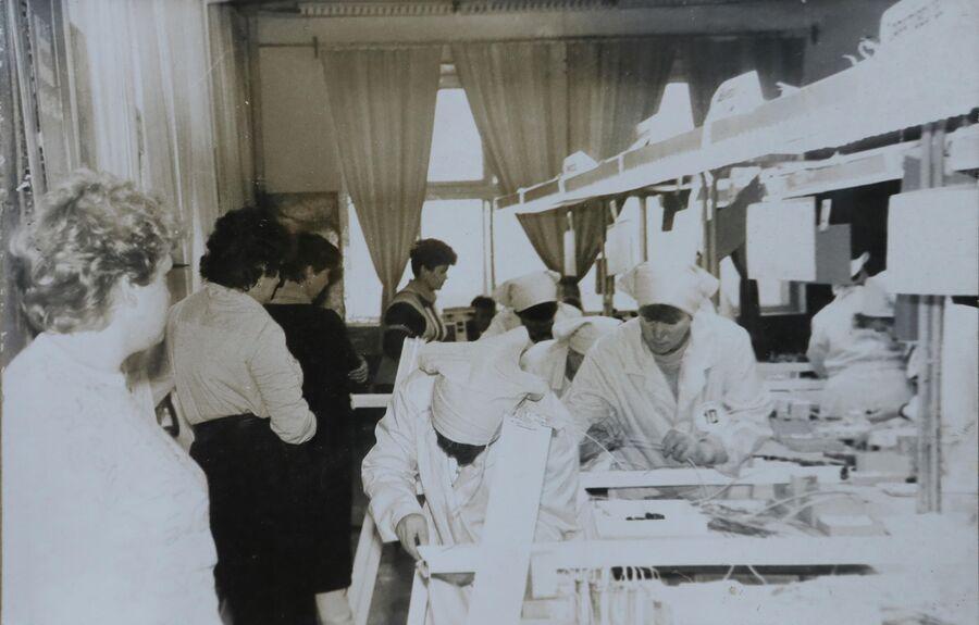 Фотография поселка советских лет