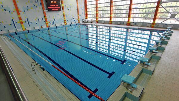 Бассейн в многофункциональном спортивном комплексе