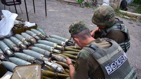 Оружие и боеприпасы, переданные правоохранительным органам Украины бойцами батальонов Национальной гвардии