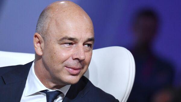 Первый заместитель председателя правительства - министр финансов РФ Антон Силуанов