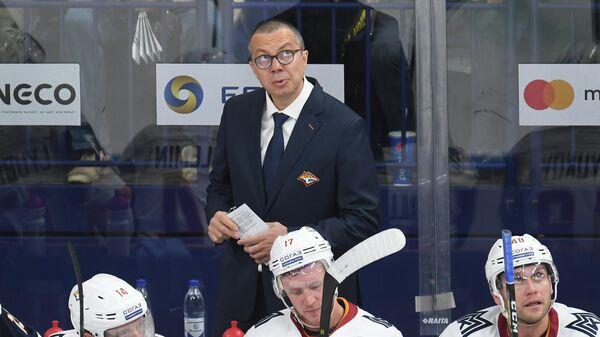 """Тренер """"Металлурга"""" о месте в таблице КХЛ: эта ситуация давит уже давно"""