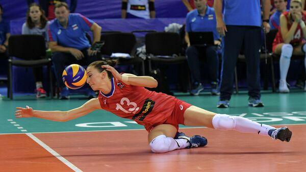 Игрок сборной России Евгения Старцева