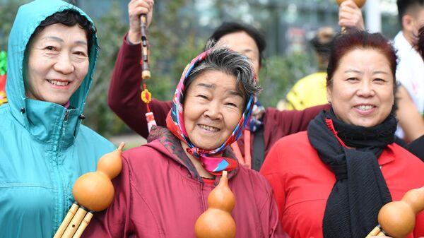 Посетители фестиваля китайской культуры Китай: великое наследие и новая эпоха