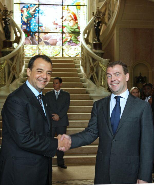 Официальный визит президента России Д. Медведева в Бразилию