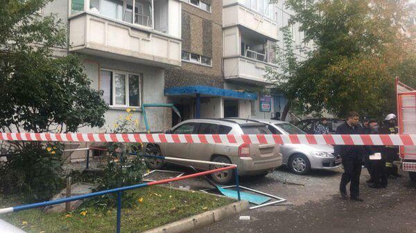 Взрыв газа в жилом доме на улице Аральская в Красноярске. 15 сентября 2019