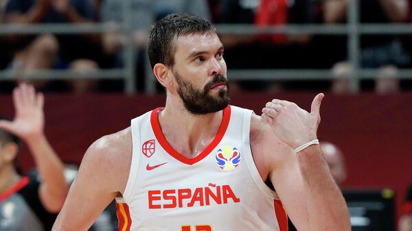Баскетболист сборной Испании Марк Газоль