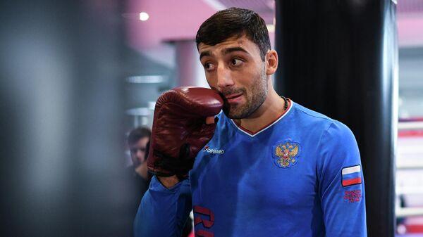 Боксер Георгий Кушиташвили (Россия)