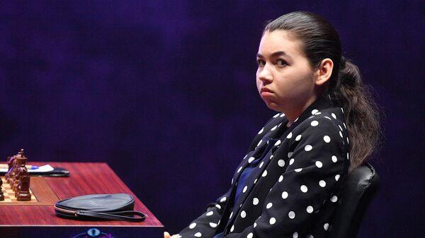 Шахматистка Александра Горячкина (Россия)