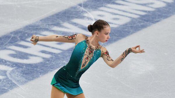 Фигуристка Ксения Синицына (Россия)