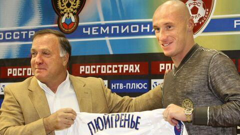 Тренер Дик Адвокат и футболист Себастьян Пюигренье
