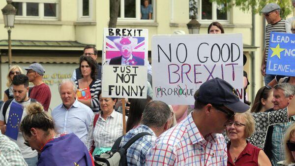 Акция протеста в Люксембурге. 16 сентября 2019