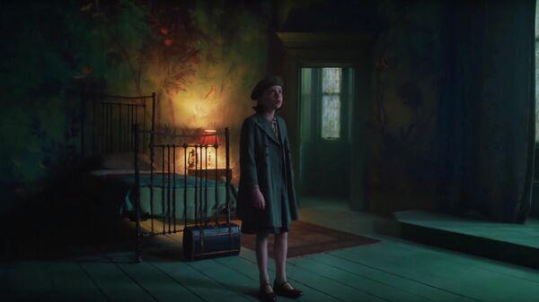 Кадр из тизера к фильму Таинственный сад