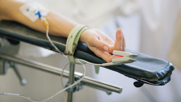Пациент во время операции