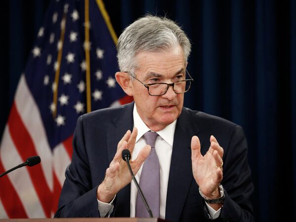 US Federal Reserve Board Chairman Jerome Powell