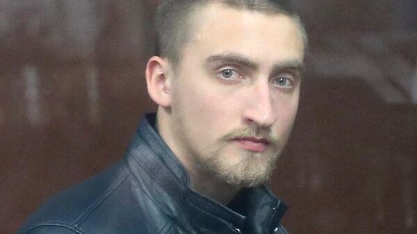 Павел Устинов в суде