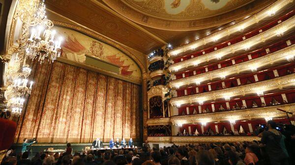 Сбор труппы Большого театра