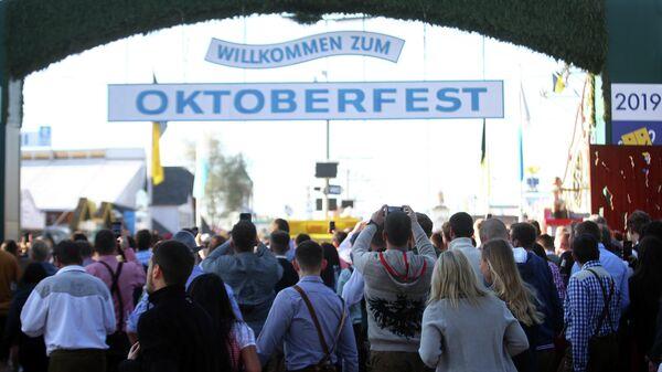 Фестиваль Октоберфест открылся в Мюнхене, Германия. 21 сентября 2019