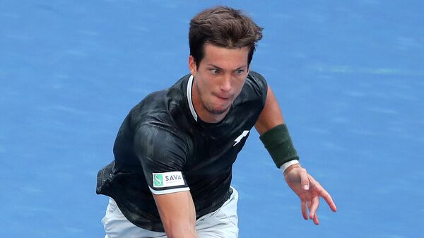 Теннисист Аляж Бедене (Словения)