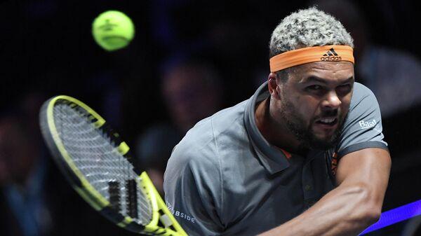 Теннисист Жо-Вильфрид Цонга (Франция)