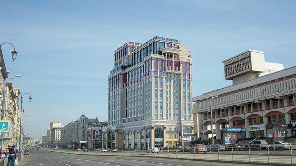 Комплекс Imperial Plaza на Краснопрудной улице в Москве