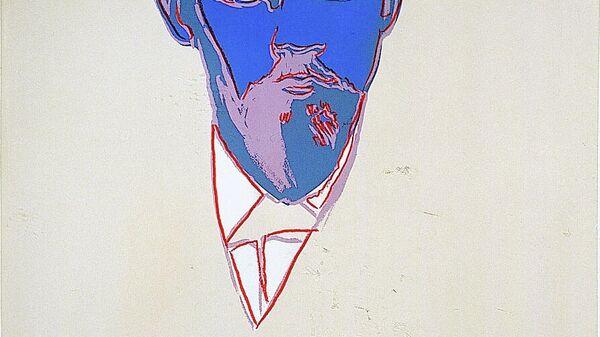 Ленин, 1986-87, Энди Уорхол, шелкография