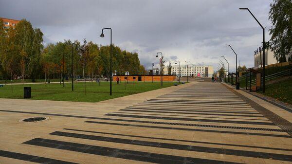 Благоустройство Центральной площади Ижевска