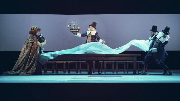 Выступление в театре