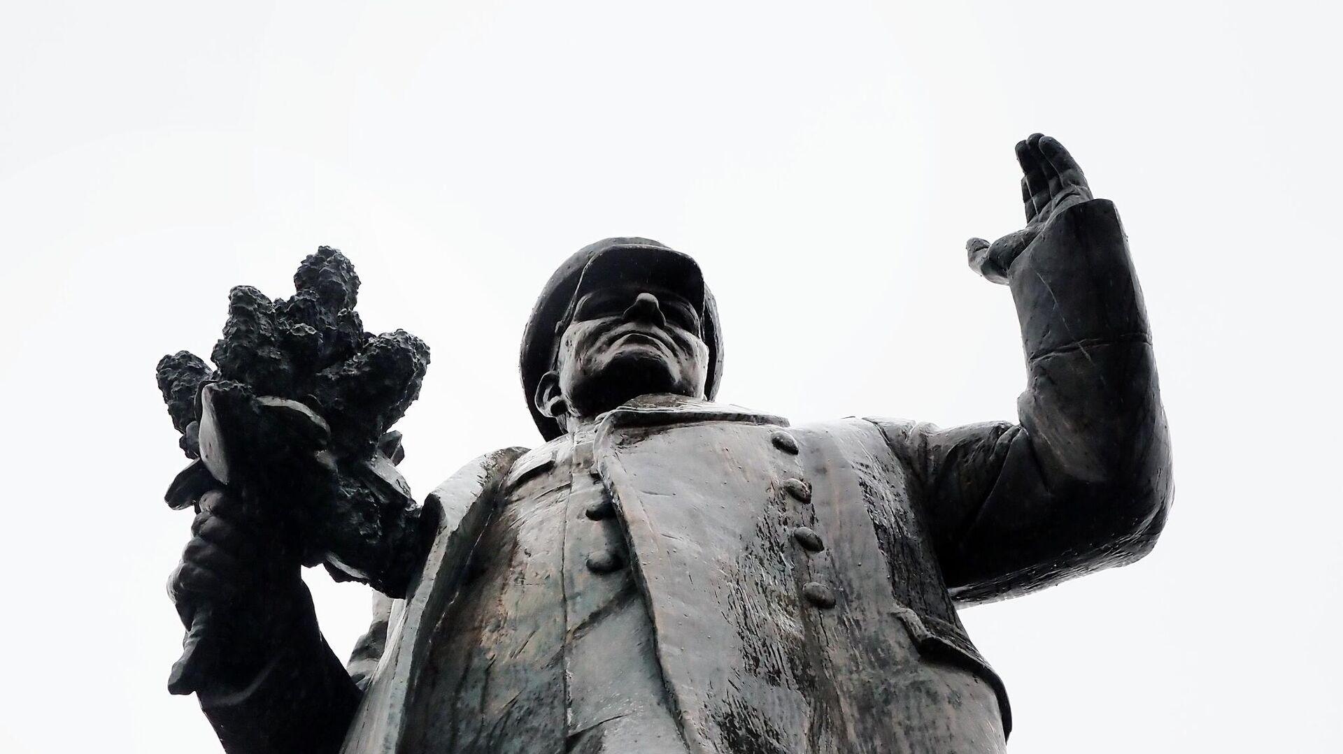 Памятник Маршалу Коневу в Праге - РИА Новости, 1920, 01.12.2020