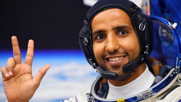 Член основного экипажа МКС-61/62 Хаззаа Аль Мансури (ОАЭ)
