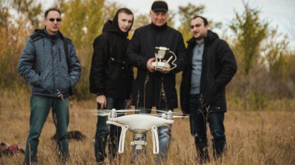 Выпускники курса управления БПЛА в Самарском университете