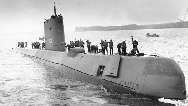 Первая американская атомная подводная лодка USS Nautilus (SS-571)
