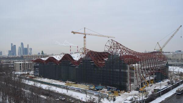Строительство Дворца гимнастики Ирины Винер-Усмановой