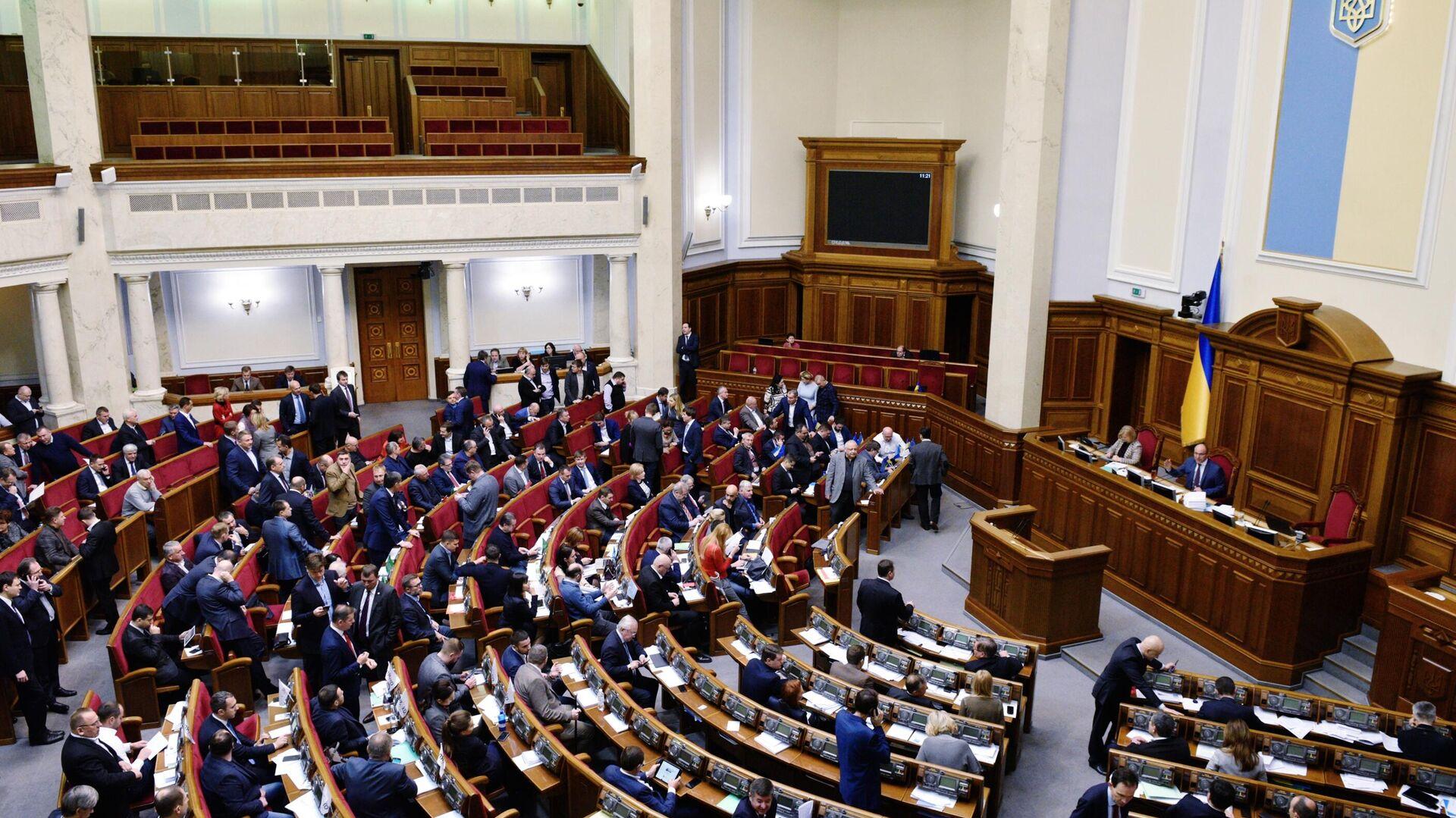 Заседание Верховной рады Украины - РИА Новости, 1920, 26.11.2020