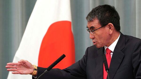 Министр обороны Таро Коно