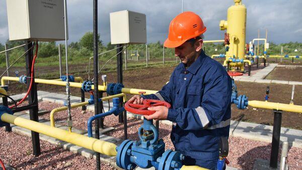 Газовое месторождение на Украине