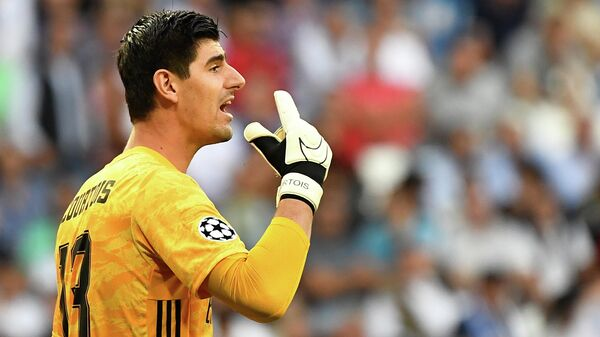 Вратарь ФК Реал Мадрид Тибо Куртуа