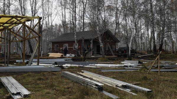 Строительство индивидуальных жилых домов для переселения жителей, пострадавших от наводнения в городе Тулун Иркутской области