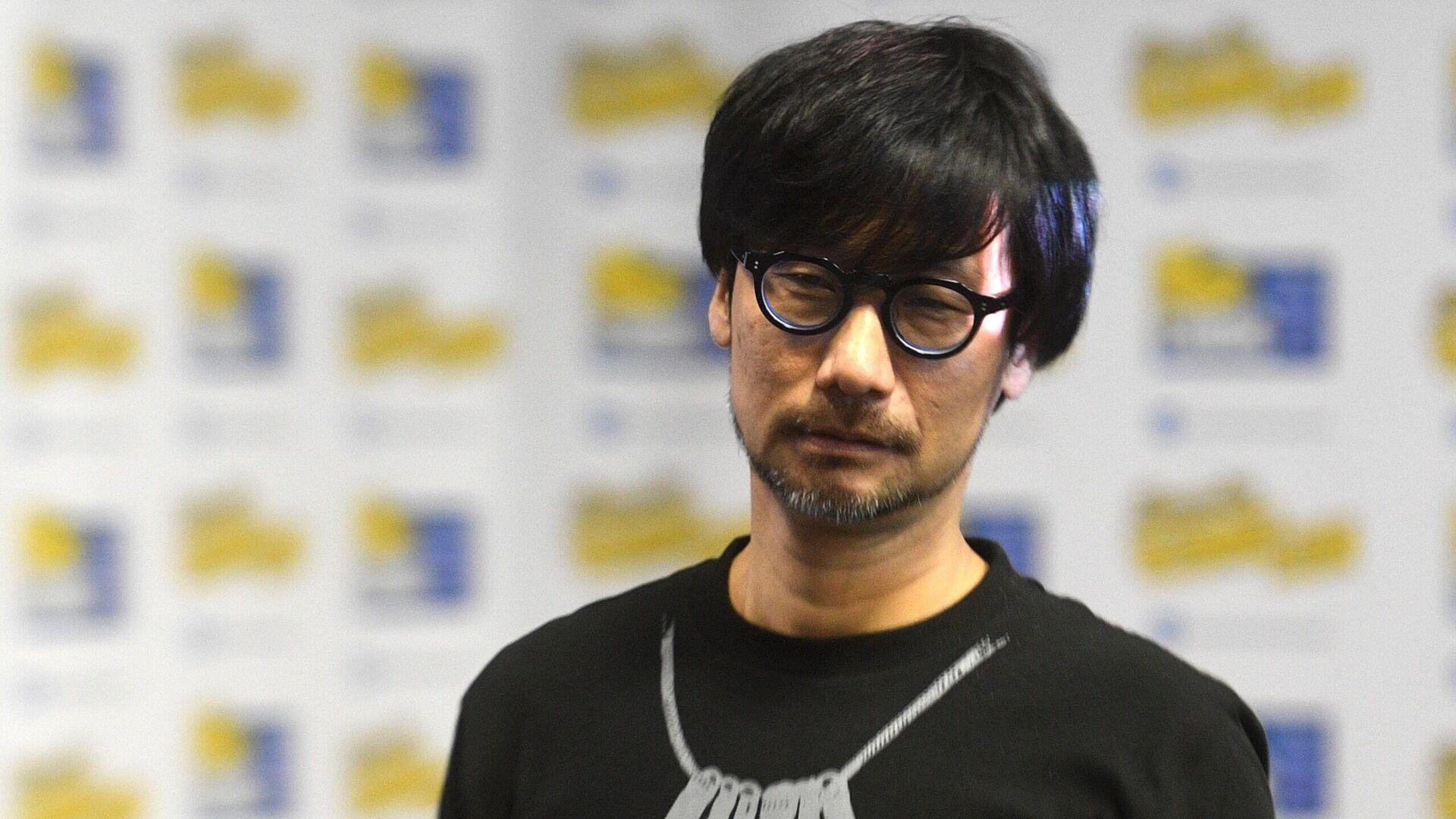 Основатель студии Kojima Productions Х. Кодзима на выставке Игромир-2019 - РИА Новости, 1920, 26.07.2020