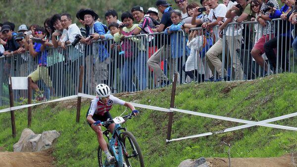 Предолимпийская гонка кросс-кантри в японском Идзу