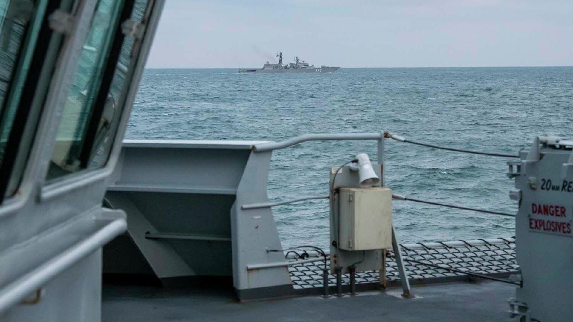 Британский патрульный корабль HMS Mersey - РИА Новости, 1920, 06.05.2021