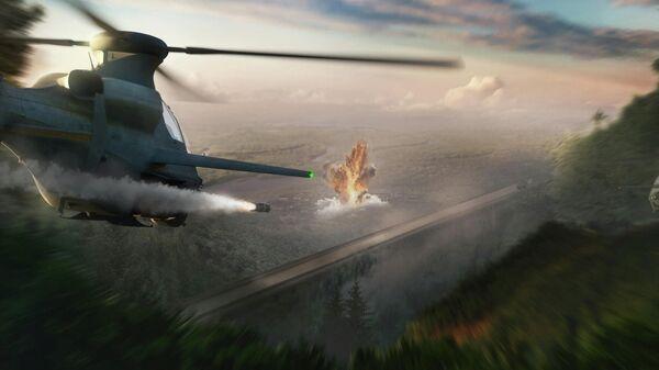 Разведывательно-ударный вертолет Bell 360 Invictus